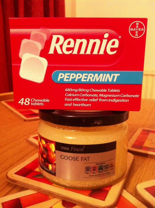 Rennie Peppermint and the goose fats